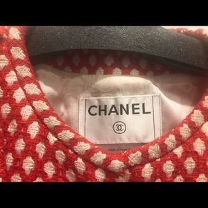 CHANEL Jackets & Coats - Chanel red and white jacket